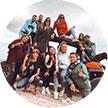 Ari, Glau, Fany, Lory, Leandro, Édric, Alice – Brasil